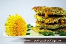 Placuszki cukiniowo-jaglane z kukurydzą