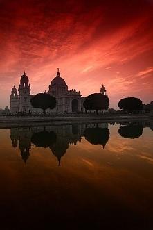 Victoria Memorial Hall, in Kolkata (Calcutta), India