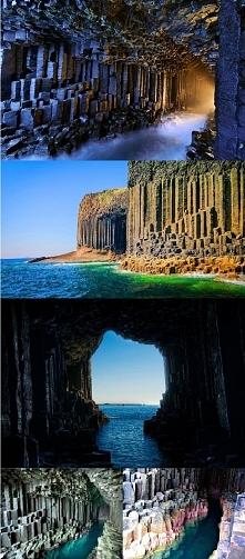 Grota Fingala - Szkocja