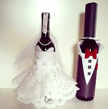 Winka zamiast kwiatków na ślub ;)  Esy Floresy