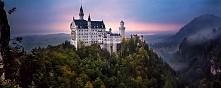 Zamek Neuschwanstein, Niemcy. Jak z Disneya