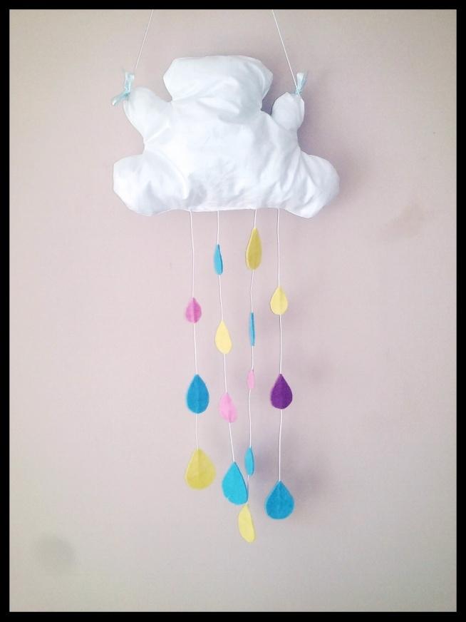 Dzisiaj chmurka do pokoju dziecięcego:) ktoś chętny zamówić?:)