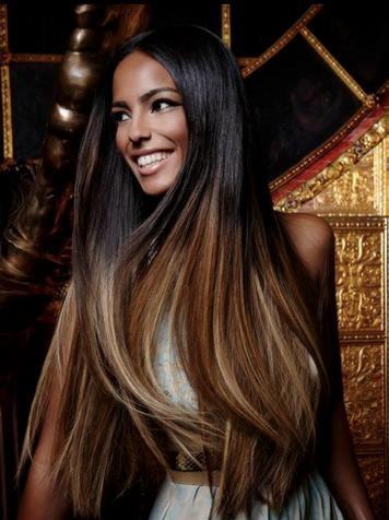 Długie Włosy Ombre Wygląda świetnie Na Fryzury Zszywkapl
