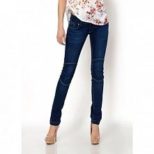 Jeansy z przeszyciami - 48,99zł - klik w zdjęcie