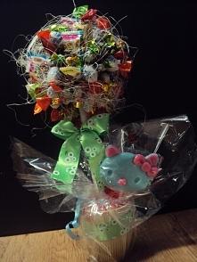 drzewko z cukierków