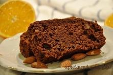 czekoladowo migdałowe ciast...