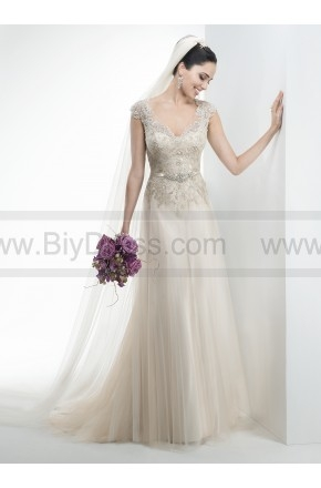 Price crash,Maggie Sottero Bridal Gown Carmen / 4MS011 For Sale