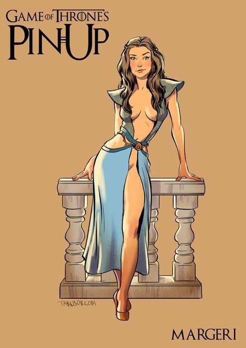 Dziewczyny z Gry o tron w stylu pin-up. Zobacz wszystkie klikając w link :)