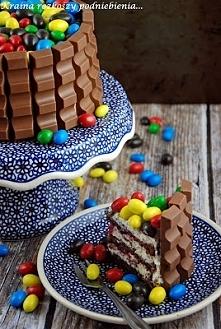 Kolorowy tort  Przepis po kliknięciu w zdjęcie :)
