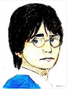 Ja bym chyba wolała narysować Snape'a :)