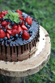"Tort ""Czekoladowa rozpusta""/ ""Chocolate lust"" cake"