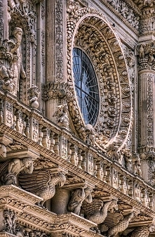 Details, details...Basilica di Santa Croce, Lecce, Italy, detail, photo by Pa...