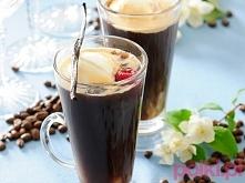 Mrożona kawa z lodami Tego potrzebujesz: 4 łyżeczki kawy rozpuszczalnej 4 łyż...