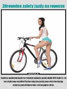 Kocham rower! Jeżdżę co 2 dni po ok 32km w mniej więcej 2 godziny. Może to ni...