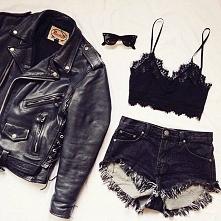 Punkowa ramoneska. Black