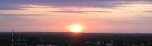 Zachód słońca z okna pokoju? I tak codziennie ;)