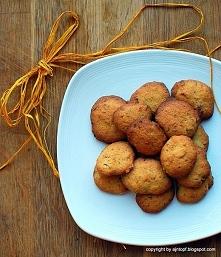 cytrynowe ciasteczka z cukinią