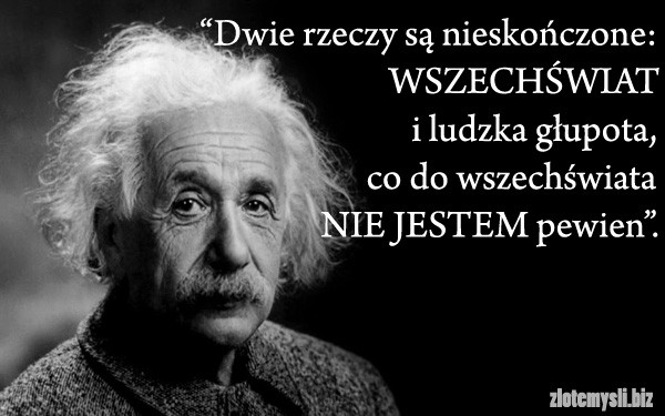 albert einstein cytaty Albert Einstein , geniusz to mało powiedziane na Cytaty   Zszywka.pl albert einstein cytaty