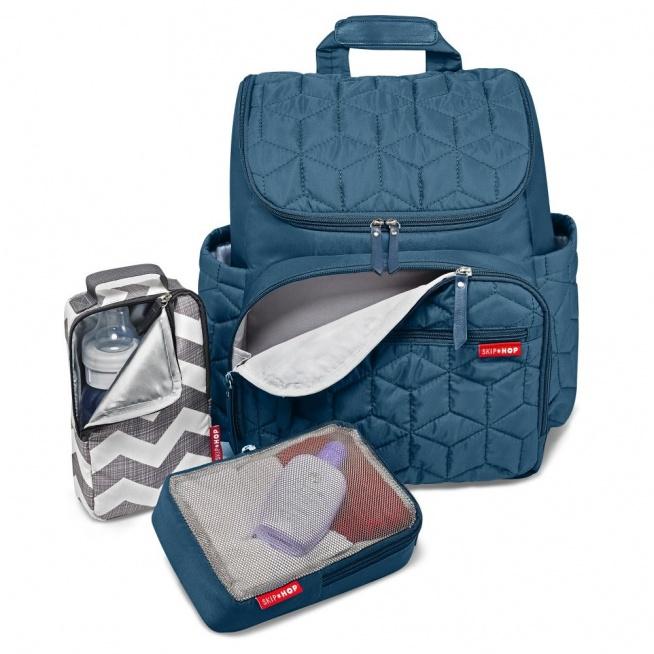 Wygodny i praktyczny plecak dla młodych i aktywnych mam!
