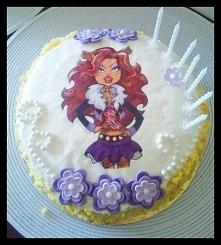 Torcik urodzinowy:)