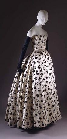 """""""Odette"""" Christian Dior F/W 1953–54."""
