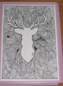 Trochę wcześniejsza praca :) Wykonanie-czarny cienkopis Czas pracy-ok.16h Mam nadzieję,że się podoba :D