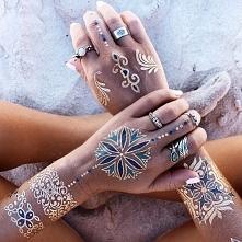 metaliczne tatuaże :) co o nich sądzicie? :)