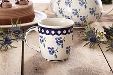 Kubek ceramiczny GU-1105 DEK. 890 Bolesławiec 400 ml.  Piękny kubek do kawy i...