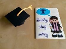 Papierowa matura - ręcznie wykonany prezent w sam raz na zdaną maturę