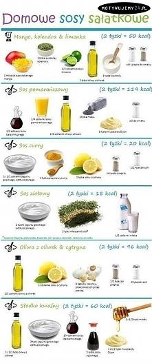 sosy do sałatek