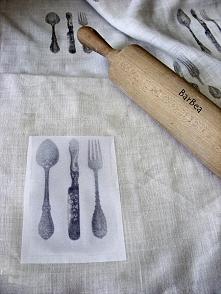 Zasłonki do kuchni Szczegóły na barbea.blogspot.com
