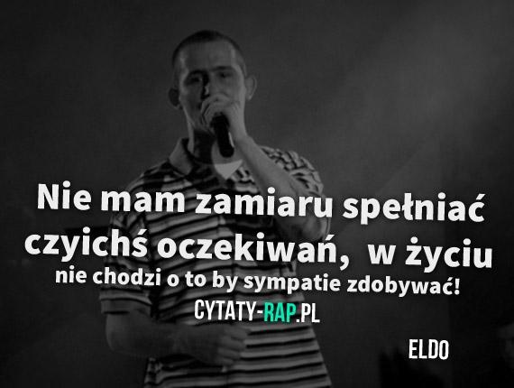 Eldo Na 3 Cytaty Z Piosenek Rapu 3 Zszywkapl