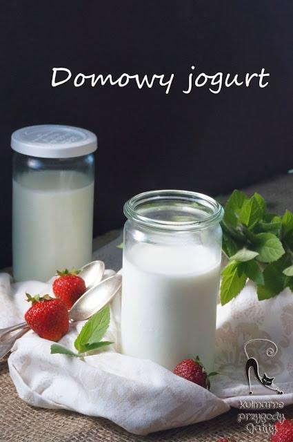 Domowy naturalny jogurt
