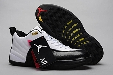 Black/White with Taxi(Yellow) Color - Jordan Retro XII (12) Low