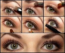 Makijaż dzienny – powiększający oczy