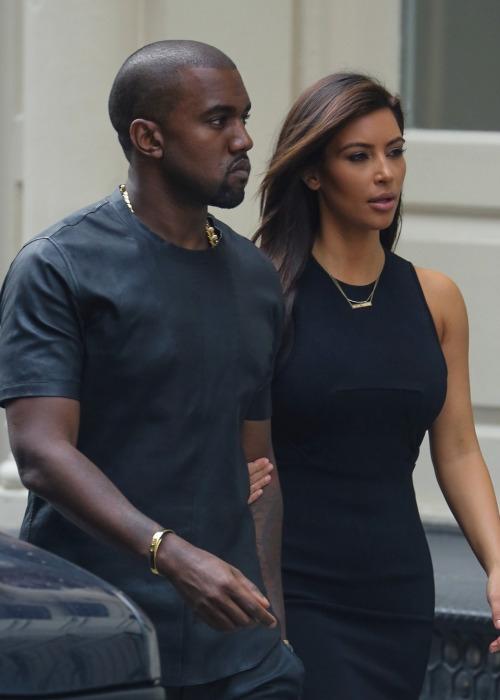 Kim & Kanye West :)