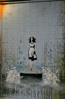 Street Art...Alice's Advent...