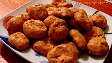 Coś na słono czyli ciasteczka bez mąki i cukru na słono :D Przepis-klik w zdj...