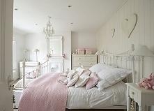 styl prowansalski, sypialnia
