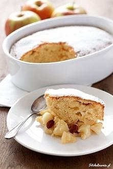 Jabłka w miodzie zapiekane pod ciastem  Przepis po kliknięciu w zdjęcie :D