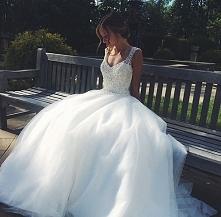 piękna suknia ślubna <3
