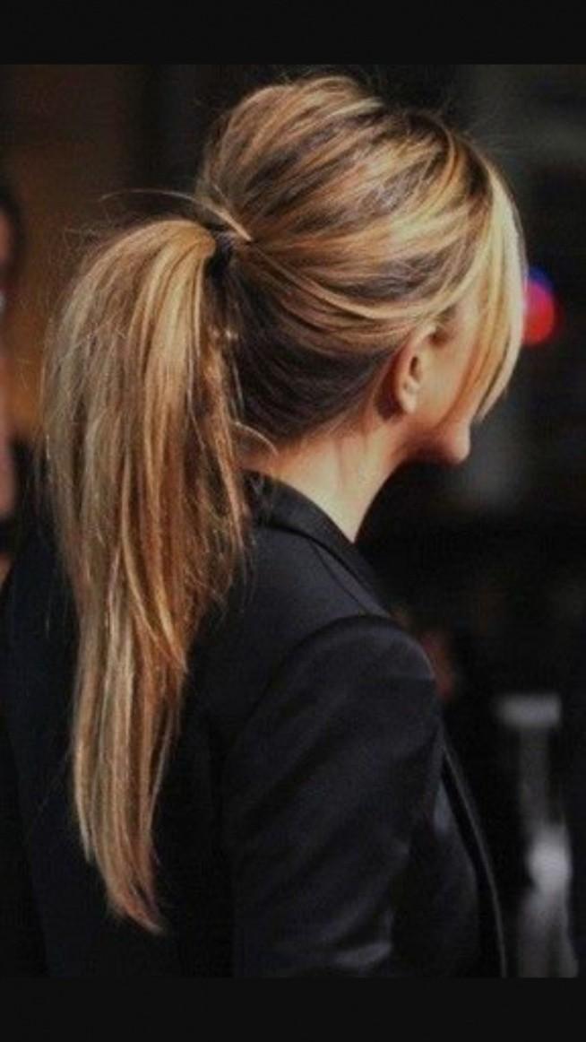 Czy Blond Pasemka Są Fajne Dla Brunetek Można Je Później