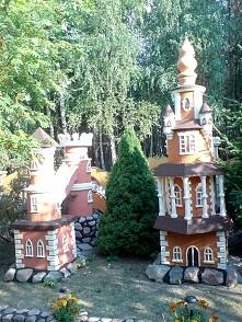 Ogroooomny talent mojego taty ♥ Zamek wykonany w ogrodzie ze styropianu! Jest...
