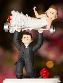 figurki na tort weselny ;)