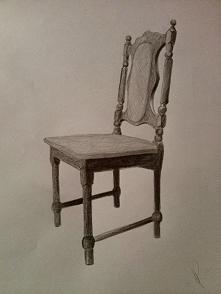 Szkic krzesła ^^