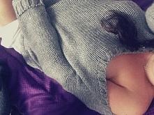 sweterek z koszula