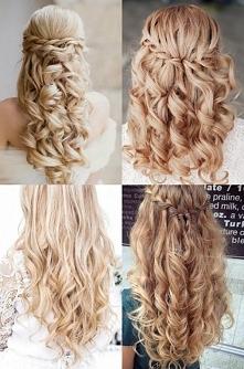Piękne rozpuszczone i pokręcone włosy♥