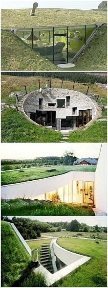 domy w ziemi