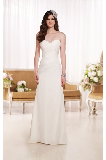 Essense of Australia Designer Strapless Wedding Dresses Style D1797