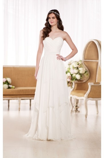 Essense of Australia Simple Wedding Gowns Style D1799